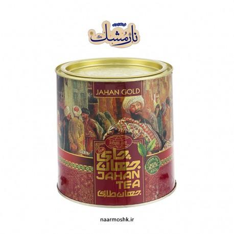 چای جهان «طلایی» (قوطی ۴۵۰ گرمی)